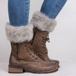 boot toppers dress sock warm leg warmers